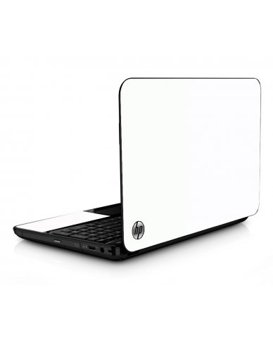White HPG6 Laptop Skin