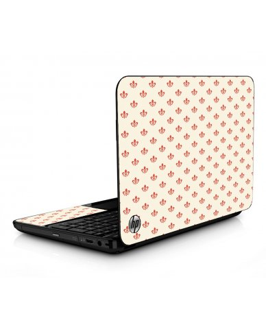 White And Pink Versailles HPG6 Laptop Skin