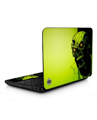 Zombie Face HPG6 Laptop Skin