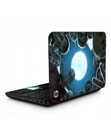 Zombie Horde HPG6 Laptop Skin