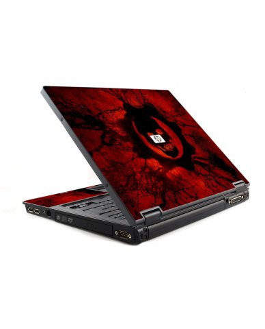 Dark Skull HP NC6120 Laptop Skin
