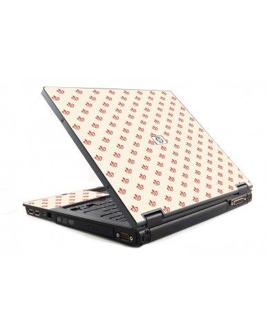 White And Pink Versailles HP NC6120 Laptop Skin