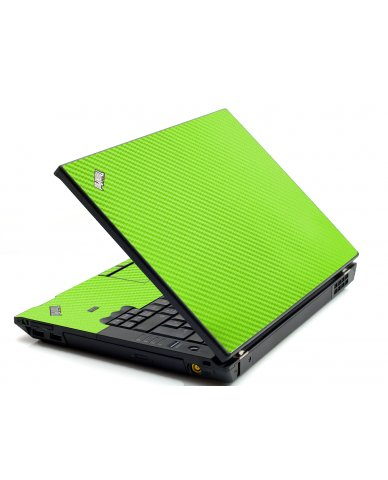 Green Carbon Fiber IBM L412 Laptop Skin
