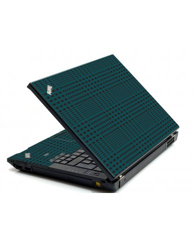 Green Flannel IBM L412 Laptop Skin