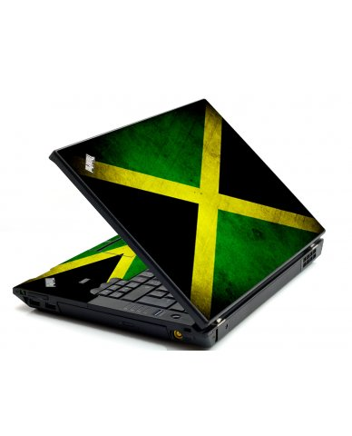 Jamaican Flag IBM L412 Laptop Skin