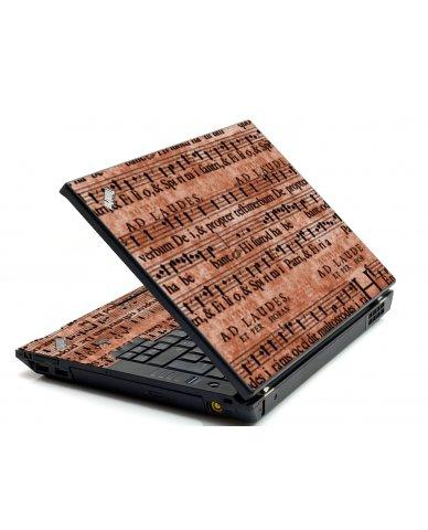 Latin Sheet Music IBM L412 Laptop Skin