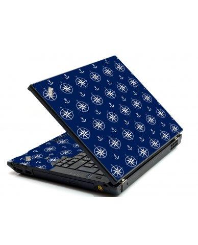 Nautical Anchors IBM L412 Laptop Skin