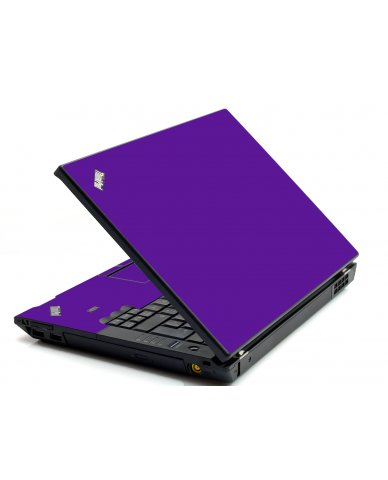 Purple IBM L412 Laptop Skin