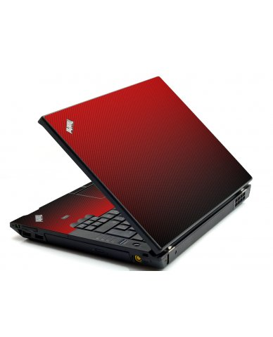 Red Carbon Fiber IBM L412 Laptop Skin