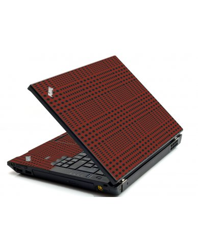 Red Flannel IBM L412 Laptop Skin