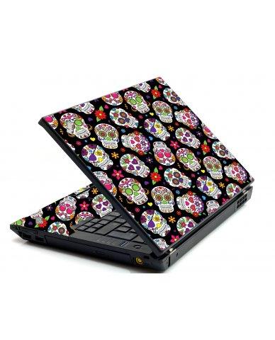 Sugar Skulls IBM L412 Laptop Skin