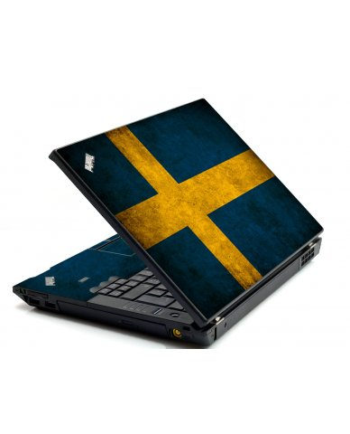Swedish Flag IBM L412 Laptop Skin