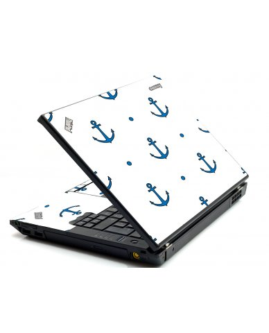 Blue Anchors IBM Sl400 Laptop Skin