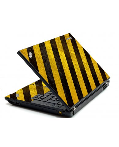 Caution Stripes IBM Sl400 Laptop Skin