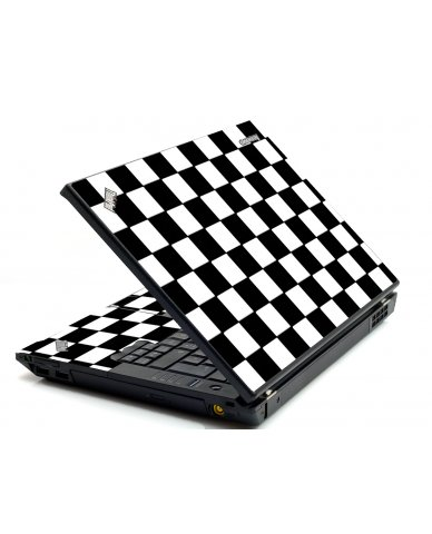 Checkered IBM Sl400 Laptop Skin