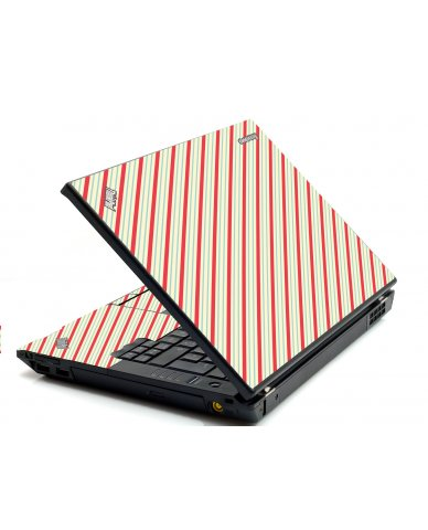 Circus Stripes IBM Sl400 Laptop Skin