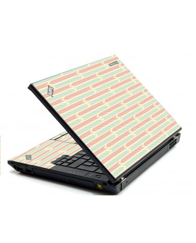 Crazy Circus Stripes IBM Sl400 Laptop Skin