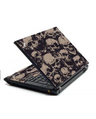 Grunge Skulls IBM Sl400 Laptop Skin