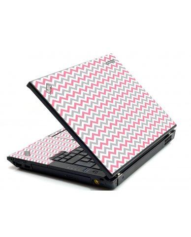 Pink Grey Chevron Waves IBM Sl400 Laptop Skin