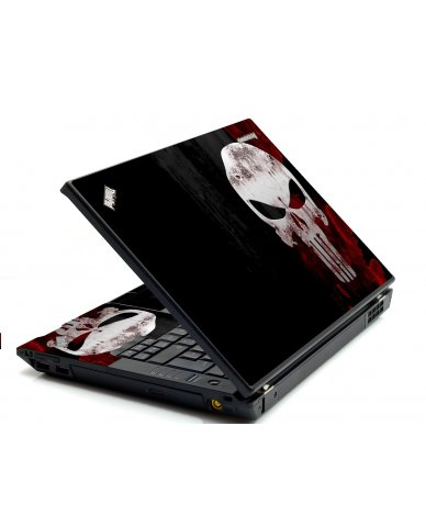 Punisher Skull IBM Sl400 Laptop Skin