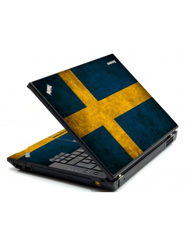 Swedish Flag IBM Sl400 Laptop Skin