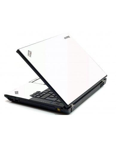 White IBM Sl400 Laptop Skin