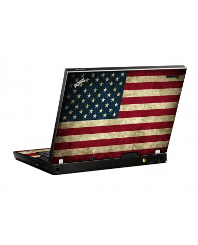 American Flag IBM T400 Laptop Skin