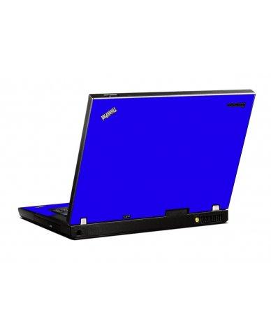 Blue IBM T400 Laptop Skin
