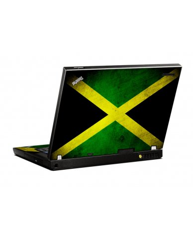 Jamaican Flag IBM T400 Laptop Skin