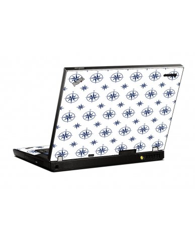Nautical IBM T400 Laptop Skin