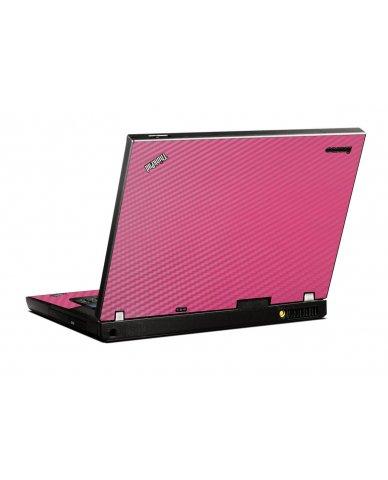 Pink Carbon Fiber IBM T400 Laptop Skin