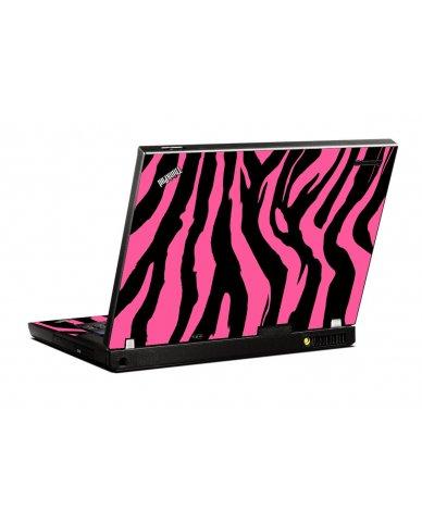 Pink Zebra IBM T400 Laptop Skin