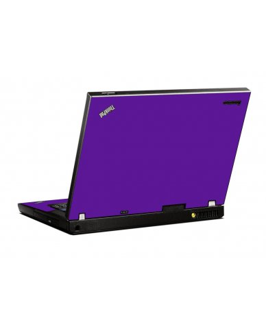 Purple IBM T400 Laptop Skin
