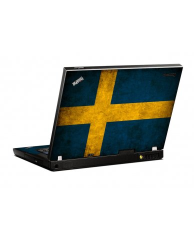 Swedish Flag IBM T400 Laptop Skin