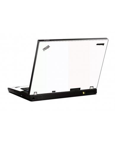 White IBM T400 Laptop Skin