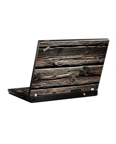 Wood IBM T400 Laptop Skin