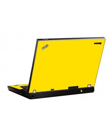Yellow IBM T400 Laptop Skin
