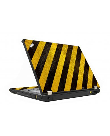 Caution Stripes IBM T410 Laptop Skin