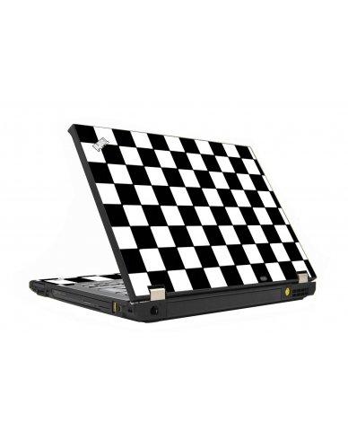Checkered IBM T410 Laptop Skin