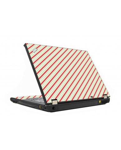 Circus Stripes IBM T410 Laptop Skin