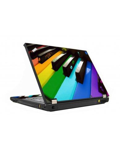 Colorful Piano IBM T410 Laptop Skin