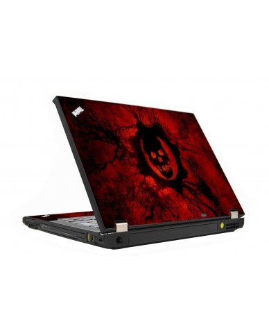 Dark Skull IBM T410Laptop Skin