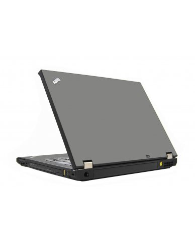 Grey Silver IBM T410 Laptop Skin