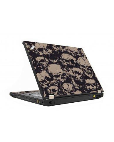Grunge Skulls IBM T410 Laptop Skin