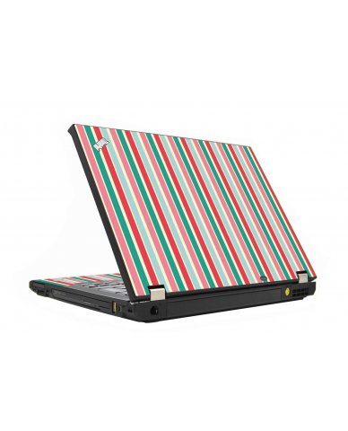 Gum Stripes IBM T410 Laptop Skin