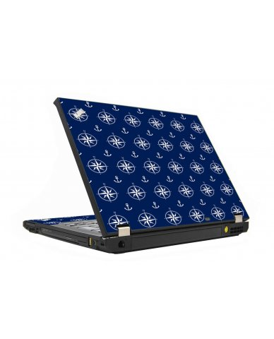 Nautical Anchors IBM T410 Laptop Skin
