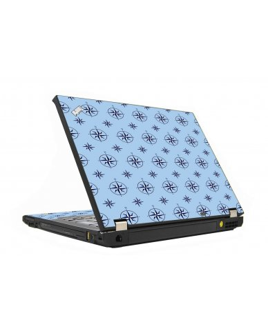 Nautical Blue IBM T410 Laptop Skin