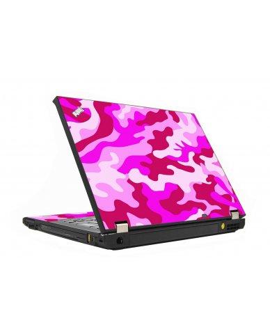 Pink Camo IBM T410 Laptop Skin