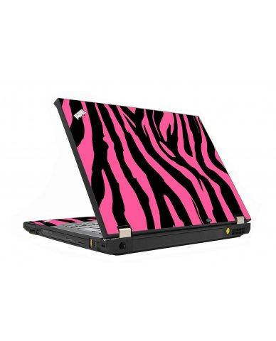 Pink Zebra IBM T410 Laptop Skin