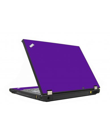 Purple IBM T410 Laptop Skin